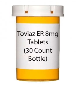 Toviaz ER 8mg Tablets (30 Count Bottle)