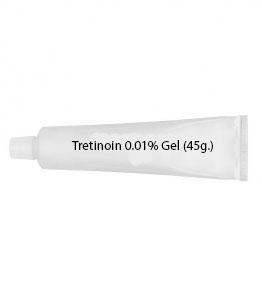 Tretinoin 0.01% Gel (45g.)