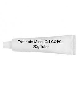 Tretinoin Micro Gel 0.04% - 20g Tube
