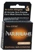 Trojan Naturalamb Natural Skin Condoms 3/Box
