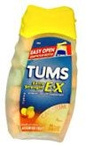 Tums E-X Tablets Assorted Fruit - 96