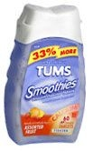 Tums Smooth Dissolve Tablets Assorted Fruit - 60