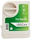 "UltiCare Pen Needle Micro 32 Gauge 5/32"" (4mm) - 100 Count Box"