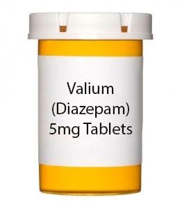 Valium (Diazepam) 5mg Tablets