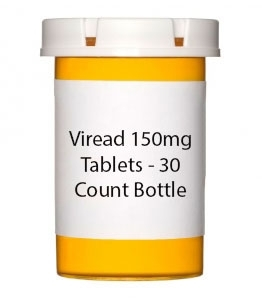 Viread 150mg Tablets - 30 Count Bottle