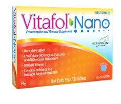 Vitafol Nano Preconception and Prenatal Blister Pack Tablets - 30ct
