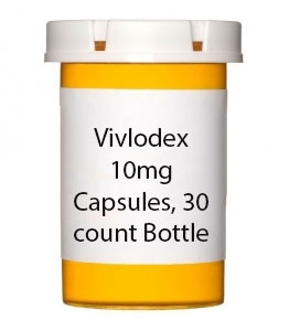 Vivlodex 10mg Capsules, 30 count Bottle