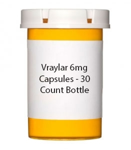 Vraylar 6mg Capsules - 30 Count Bottle