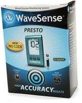 WaveSense Presto Blood Glucose Meter Starter Kit
