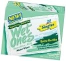 Wet Ones Moist Wipes Singles Sensitive 24 ct