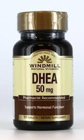 Windmill DHEA 50 mg Tablets - 50ct