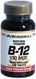 Windmill Vitamin B-12 100 mcg Tablets 100ct