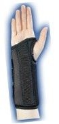 Wrist Brace Composite Black Left Large-Bell Horn