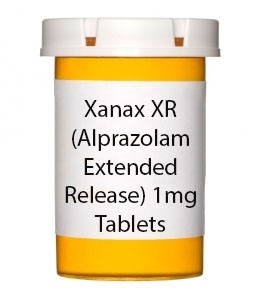 Xanax XR (Alprazolam Extended Release) 1mg Tablets
