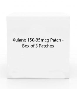 Xulane 150-35mcg Patch - Box of 3 Patches