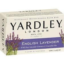 Yardley of London English Lavender Bath Bar Soap (2pack) - 4.25oz