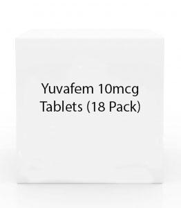 Yuvafem 10mcg Tablets (18 Pack)