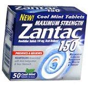Zantac 150 Tablets Cool Mint - 50