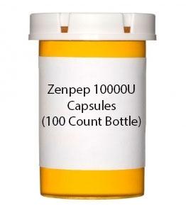 Zenpep 10000U Capsules (100 Count Bottle)