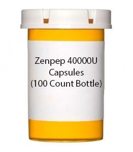 Zenpep 40000U Capsules (100 Count Bottle)