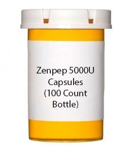 Zenpep 5000U Capsules (100 Count Bottle)