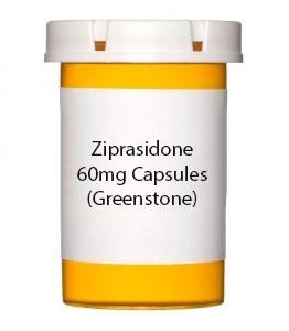 Ziprasidone 60mg Capsules (Greenstone)