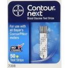 Bayer Contour Next Blood Glucose Test Strips - 50 Strips