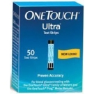 OneTouch Ultra Diabetic Test Strips - 50 Strips