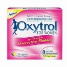 Oxytrol (8 Patch) For Women Overactive Bladder Patches