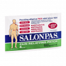 Salonpas Pain Relieving Patch Large 4/Pk---QTY of 1 = 5 Envelopes with 4 patches in each.