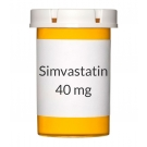 Simvastatin 40mg Tablets