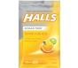 Halls Mentho-Lyptus S.F. Vapor Action Formula Citrus Blend 25ct