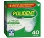 Polident Denture Cleanser Tablet 40ct