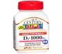 21st Century, High Potency D3-1000 IU 110 Tablets
