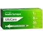 "UltiCare Insulin Syringe, 31 Gauge, 1cc, 5/16"" Needle - 100 Count"