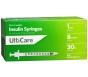 "UltiCare Insulin Syringe, 30 Gauge, 1cc, 5/16"" Needle - 100 Count"