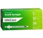 "UltiCare Insulin Syringe, 29 Gauge, 1cc, 1/2"" Needle - 100 Count"