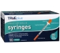 "TRUEplus Insulin Syringes 28 Gauge, 1cc, 1/2"" Needle- 100ct"