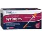 """TRUEplus Insulin Syringes 29 Gauge, 3/10 cc, 1/2"""" Needle- 100ct"""