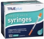 "TRUEplus Insulin Syringes 30 Gauge, 1cc, 5/16"" Needle- 100ct"