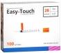 "EasyTouch Insulin Syringe 28 Gauge, 1cc, 1/2"" - 100ct"