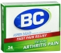 BC Aspirin Fast Pain Relief Arthritis Powders - 24 CT