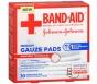 Band-Aid First Aid Medium Gauze Pads, 3x3 Inch, 10ct