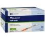 "Monoject Insulin Syringe 29 Gauge, 1cc, 1/2""- 100ct"