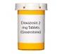 Doxazosin 2 mg Tablets (Greenstone)