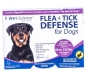 Flea   Tick Defense for 89 to 132-Pound Dogs and Puppies, 3 Doses