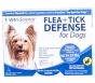 Flea   Tick Defense for Dogs and Puppies Up to 22-Pound, 3 Doses