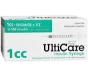 "UltiGuard U-100 Insulin Syringes 30 Gauge, 1cc, 1/2""- 100ct"