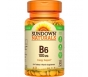 Sundown Naturals B6 Vitamin Tablets, 50mg, 150ct