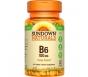 Sundown Naturals B6 Vitamin Tablets, 50mg, 150ct